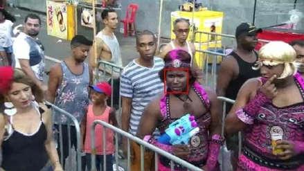 Brasil | Capturan a prófugo disfrazado de mujer en medio de festejos por carnaval