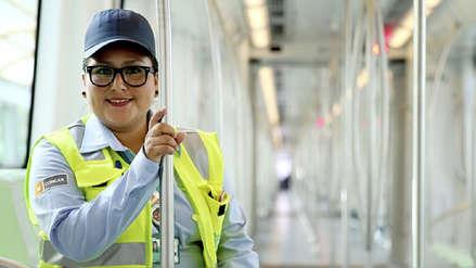 La historia de María, la 'conductora de oro' del Metro de Lima