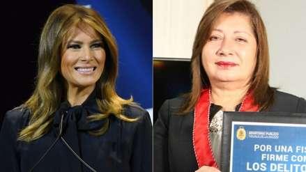Fiscal peruana recibirá premio 'Mujeres de Coraje' en Estados Unidos de manos de Melania Trump