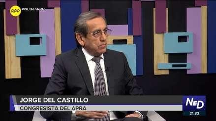 Jorge del Castillo sobre caso Lescano:
