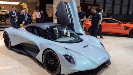 Mira los modelos furistas de automóviles eléctricos expuestos en el Salón Internacional de Ginebra