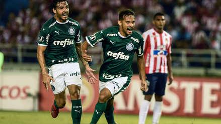 Palmeiras derrotó 2-0 a Junior de Barranquilla  por el Grupo F de la Copa Libertadores