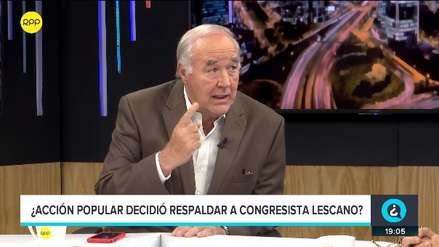 García Belaunde sobre Yonhy Lescano: