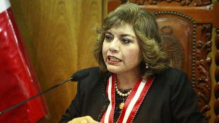 Zoraida Ávalos fue ratificada como fiscal de la Nación
