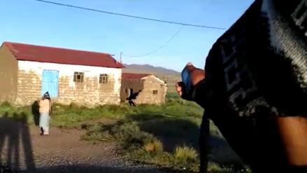 Autoridades no hallaron el objeto caído del cielo en Puno pero piden a vecinos alejarse para