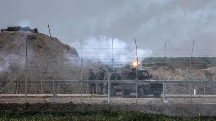 Israel bombardeó varias bases de Hamás en Gaza
