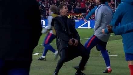 Diego Simeone recibió castigo por su celebración en la ida ante Juventus por Champions League