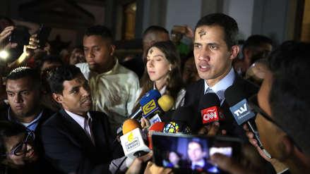 Juan Guaidó pide a Michelle Bachelet que constate