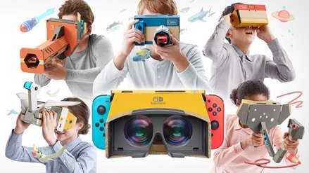 La realidad virtual llega a Nintendo Switch con los cartones Labo VR