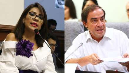 Alejandra Aramayo pidió que Yonhy Lescano sea retirado de Pleno Mujer: