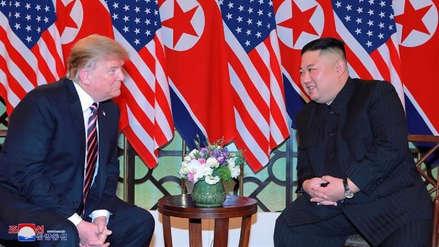 La televisión norcoreana mostró el fin de la cumbre Donald Trump-Kim Jong-un