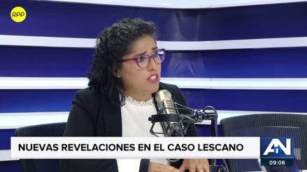 Abogada de periodista que denunció a Lescano descarta que su clienta vaya a declarar ante la prensa