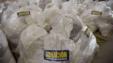 EE.UU. envió a Colombia más suministros médicos para los venezolanos