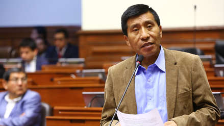 Congreso aprueba levantar la inmunidad parlamentaria de Moisés Mamani