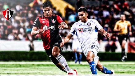 Cruz Azul ganó 2-0 al Atlas en duelo de peruanos por Clausura 2019 de la Liga MX