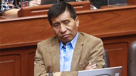 Salaverry notificó al Poder Judicial levantamiento de inmunidad a Mamani