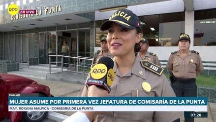 """Rosana Malpica, la primera mujer comisaria de La Punta: """"Jamás agachen la cabeza, sigan luchando por sus objetivos"""""""