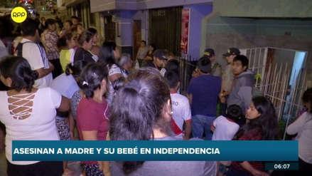 Una madre y su bebé fueron asesinados y hallados muertos en su casa en Independencia