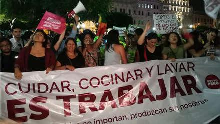 Así fue la marcha contra la violencia de género y por la igualdad realizada en Lima