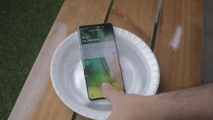 Video | Samsung S10+: Probamos sus sistemas biométricos bajo el agua