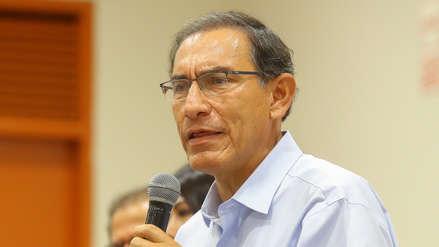 """Martín Vizcarra: """"Son cinco ministras en el Gabinete, debe haber más y va a haber más"""""""