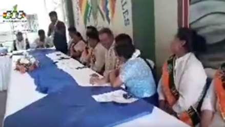 Dirigente cocalero ofreció mujeres a ministro para que se quede en fiesta en Bolivia [VIDEO]