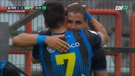 ¡Empieza con buen pie! Alexander Succar anotó un gol en su debut con Huachipato