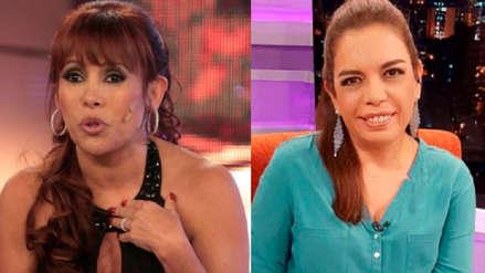 Magaly Medina pidió disculpas públicas tras ser suspendida por discutir con Milagros Leiva