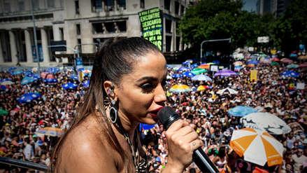 Anitta convocó más de 400 mil personas en el cierre del Carnaval de Río de Janeiro 2019