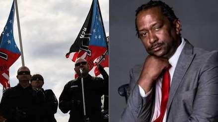 Neonazis se pronuncian luego de que afroamericano los