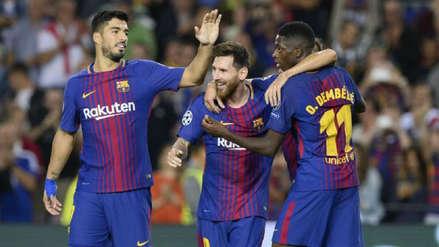 Figura de Barcelona es duda para el choque ante Lyon por Champions League
