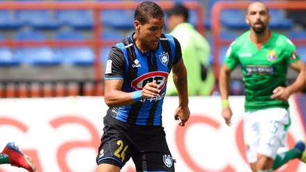 Alexander Succar tras su primer gol con Huachipato: