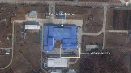 Fotos por satélite revelan actividad en otra instalación de misiles norcoreana