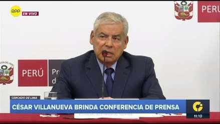 Villanueva sobre su renuncia:
