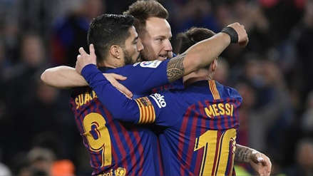 Barcelona venció 3-1 a Rayo Vallecano de Luis Advíncula y sigue firme como líder de la Liga Santander