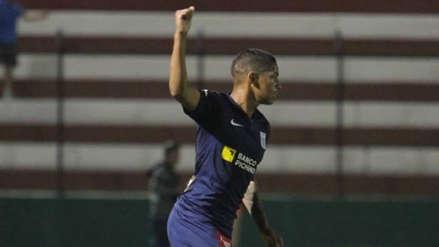 Alianza Lima   La felicidad de Kevin Quevedo: