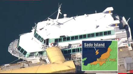 Más de 80 heridos dejó el choque de barco con un objeto que podría haber sido una ballena