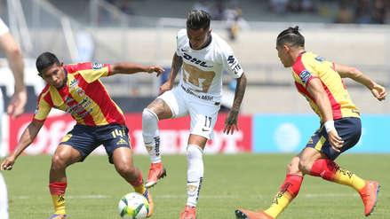 Monarcas Morelia se dejó empatar por Pumas en el Clausura de la Liga MX