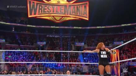 ¡Irá a WrestleMania! Becky Lynch derrota a Charlotte gracias a Ronda Rousey | Fastlane 2019