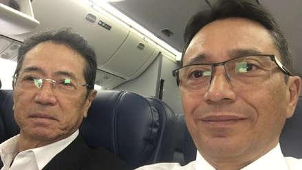 Jaime Yoshiyama se encuentra en un vuelo de regreso a Lima para entregarse a la justicia