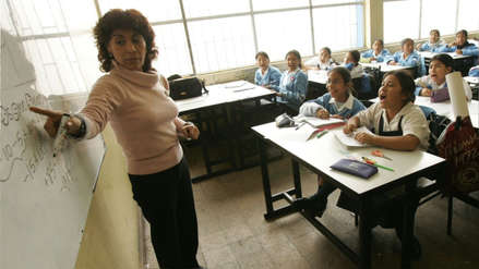 Minedu: En diciembre los maestros recibirán otro aumento salarial de S/100
