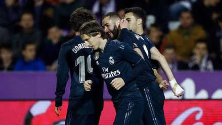 Real Madrid: las fotos de la celebración tras vencer a Valladolid por la Liga Santander