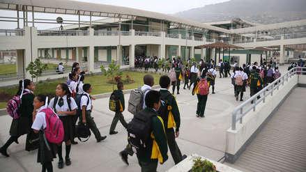 Año Escolar 2019: más de 6 millones de escolares inician clases en todo el Perú