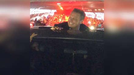 Luis Miguel sorprendió a sus fans peruanos luego de terminar el concierto [VIDEO]