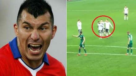 Gary Medel golpeó a su compañero Quaresma en el Besiktas y el Konyaspor