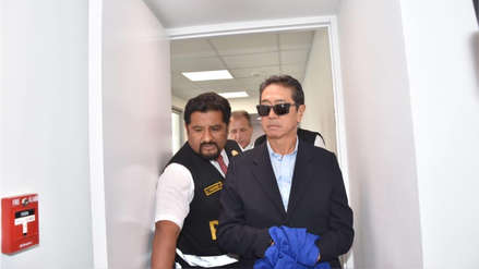 Jaime Yoshiyama será trasladado al penal Miguel Castro Castro para cumplir prisión preventiva