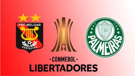 Melgar vs. Palmeiras EN VIVO: ¿cómo, dónde y cuándo ver el partido por la Copa Libertadores?