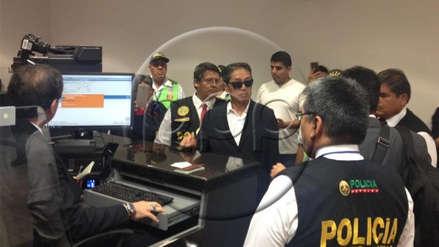 Jaime Yoshiyama llegó a Lima tras 4 meses en EE.UU. y fue detenido por la Policía