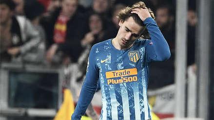 Antoine Griezmann tras caer ante la Juventus: