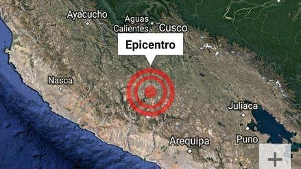 Un sismo de magnitud 4.3 se sintió en la provincia de La Unión – Arequipa esta mañana